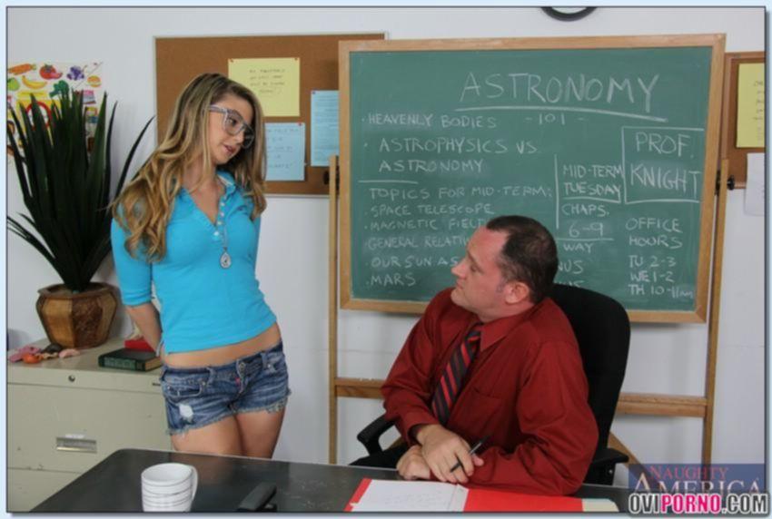 Учитель трахнул студентку