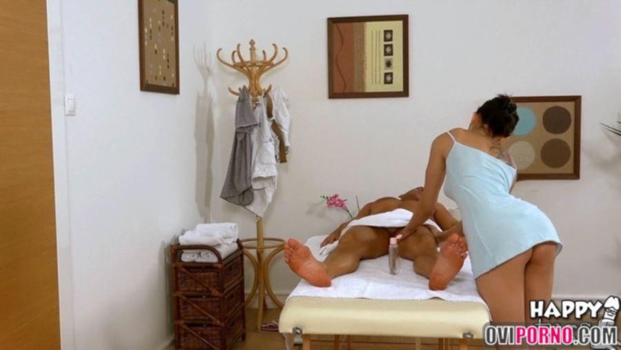 Секс массаж от азиатки