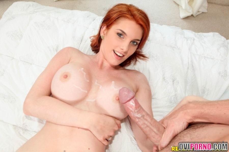 Секс с красивой рыжей девушкой