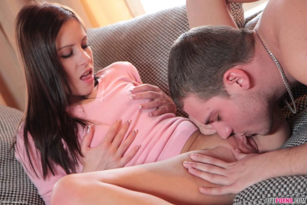 Секс с чувственной девушкой