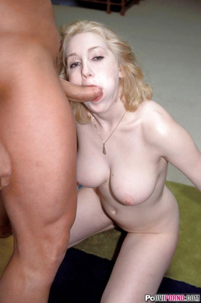 Наказал анально блондинку