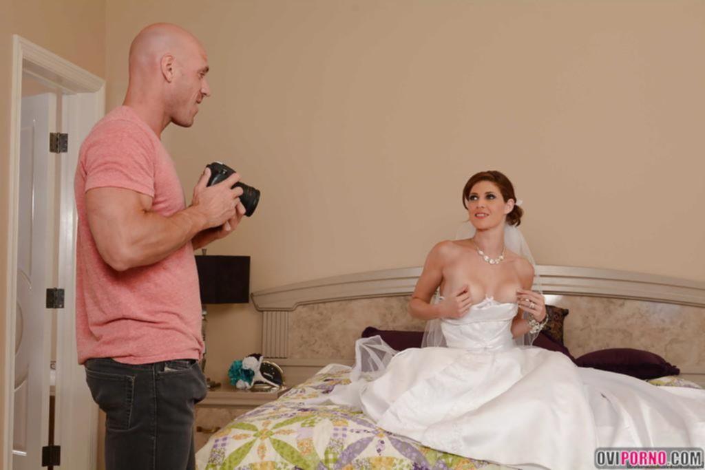 Трахнул жену на свадьбе